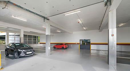 StorageMart on Ingleby House in Brighton Indoor Vehicle storage