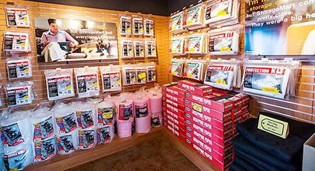 StorageMart on Kingsview Blvd in Airdrie self storage facility