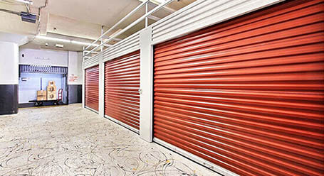 StorageMart on Mandela Parkway in Oakland Interior Units