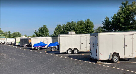 StorageMart on Marilyn Rd in Fishers - Boat and RV Parking