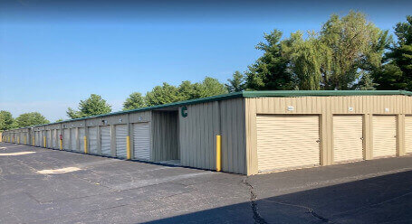 StorageMart on Marilyn Rd in Fishers - Drive-Up Storage Access