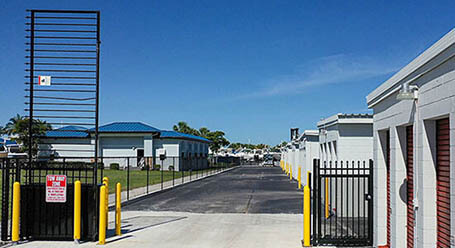 StorageMart on McGregor Blvd in Fort Myers Gated Access
