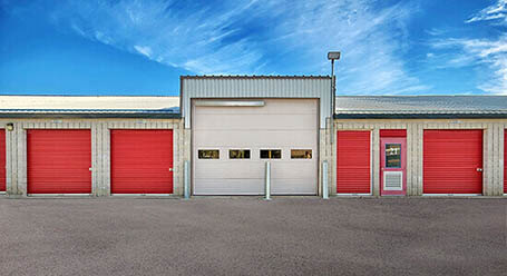 StorageMart on Middlefield Road in Scarborough Loading Bay