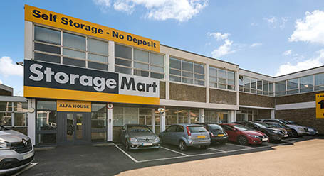 StorageMart on Molesey-Road in Walton-on-Thames self storage