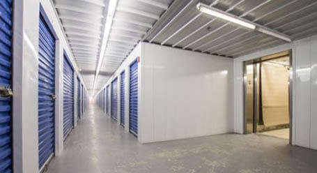 StorageMart on Morrow Rd in Barrie, ON Interior Heated Units