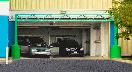StorageMart on Norseman St in Etobicoke Covered Loading Bay