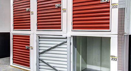 StorageMart on Northwest 7th street in Miami Interior Storage Units