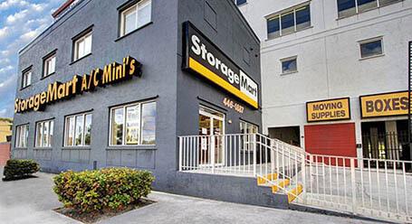 StorageMart on Northwest 7th street in Miami Self Storage
