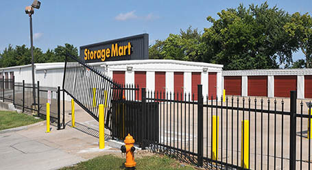 StorageMart on Northwest outer road in Blue Springs Gated Access
