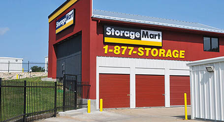 StorageMart on Northwest outer road in Blue Springs Self Storage