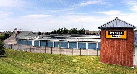 StorageMart on Northwest Prairie View Road in Kansas City Drive-Up Units