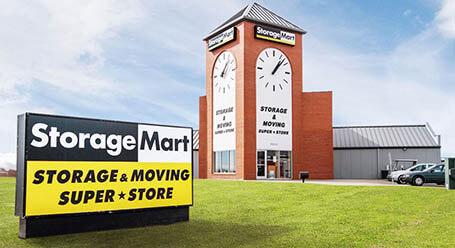 StorageMart on Northwest Prairie View Road in Kansas City Self Storage