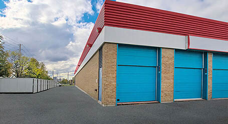 StorageMart on O'Connor Drive in Toronto Self Drive-Up Units