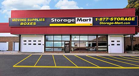 StorageMart on O'Connor Drive in Toronto Self Storage