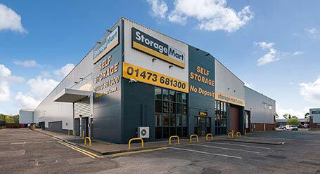 StorageMart on Rapier Street in Ipswich self storage