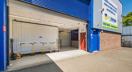 StorageMart on Ridgewood Industrial Estate in Uckfield Loading Bay