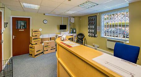 StorageMart on Ridgewood Industrial Estate in Uckfield self storage facility