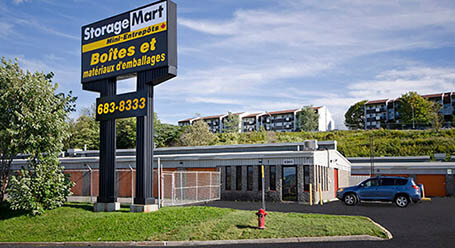 StorageMart on Rue Galvani in Quebec Self Storage