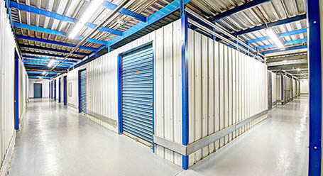 StorageMart on Rue Jacquard in Quebec City Heated Units