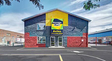 StorageMart on Rue Pascal-Gagnon in St-Leonard Self Storage