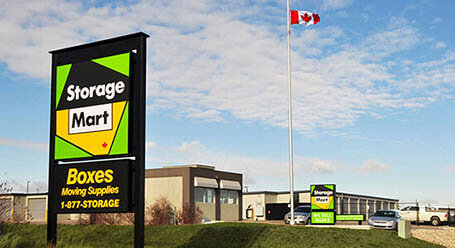 StorageMart on Sandra Schmirler Way in Regina Self Storage