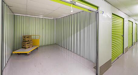 StorageMart on Shrub End Road in Colchester interior self storage units