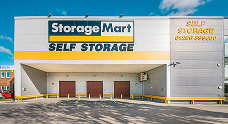 StorageMart on Shrub End Road in Colchester self storage