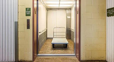 StorageMart on Soquel Drive in Santa Cruz Elevator Access