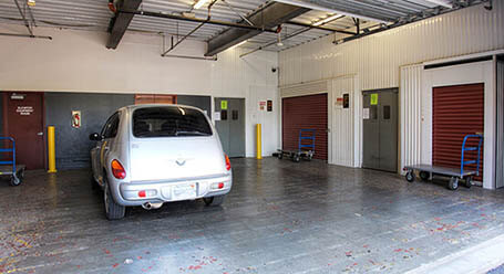 StorageMart on South State Route 291 in Lees Summit Loading Bay