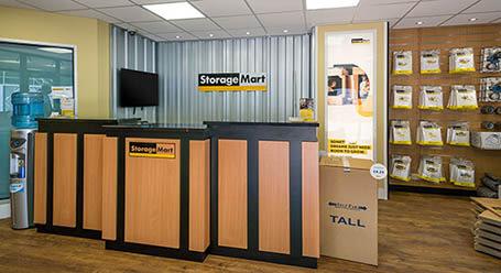 StorageMart on Stevenson Road in Brighton self storage office