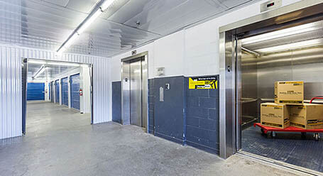 StorageMart on Todd Baylis Boulevard in York Elevator Access