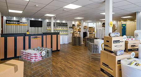 StorageMart on Vulcan Road in Norwich self storage facility