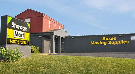 StorageMart en West Dennis Avenue en Olathe unidades de almacenamiento