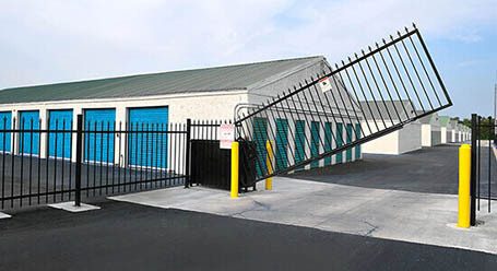 StorageMart on Weston Road in Woodbridge Gated Access