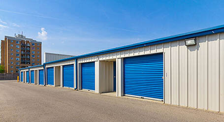 StorageMart on Wharncliffe Road in South London Drive-Up Units