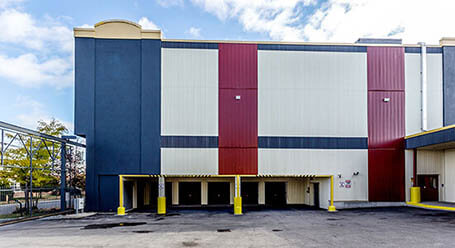 StorageMart on Wicksteed Ave in East York Loading Bays