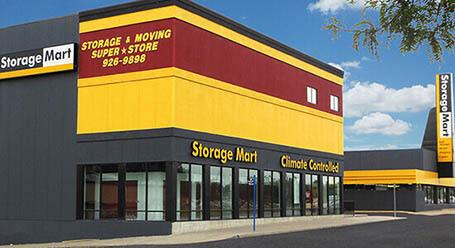 StorageMart en Wornall Road en Kansas City Almacenamiento