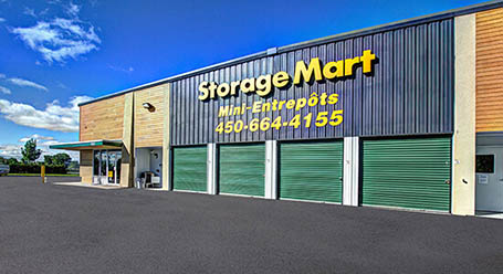 StorageMart sur Montee Masson a Laval  Entreposage