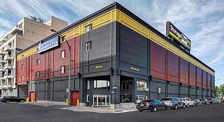 StorageMart sur Rue du Shannon a centre-ville de Montreal Entreposage