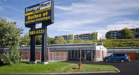 StorageMart sur Rue Galvani a Quebec Entreposage