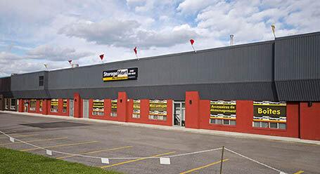 StorageMart sur rue Jacquard a Quebec City Entreposage
