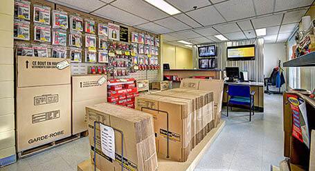 StorageMart sur Rue Jacquard a Ville de Quebec unité d'entreposage